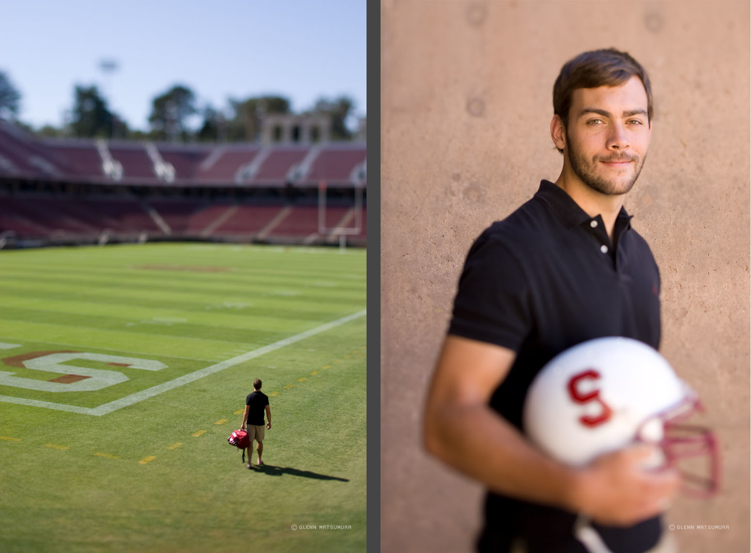 Editorial story on walk on athletes. Stanford football long snap